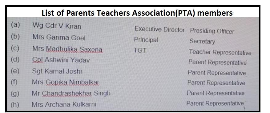 PTA member